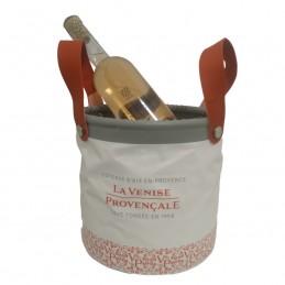 Seau à champagne souple