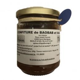 Confiture Baobab Vanille