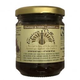 Chutney Raisins Piment